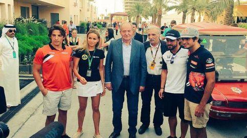 El Rey Juan Carlos sigue la vuelta al mundo y reaparece en Bahrein