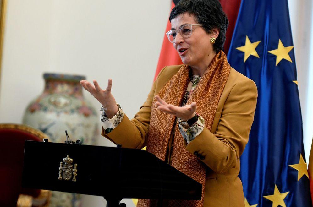 Foto: La ministra de Exteriores, Arancha González Laya. (EFE)
