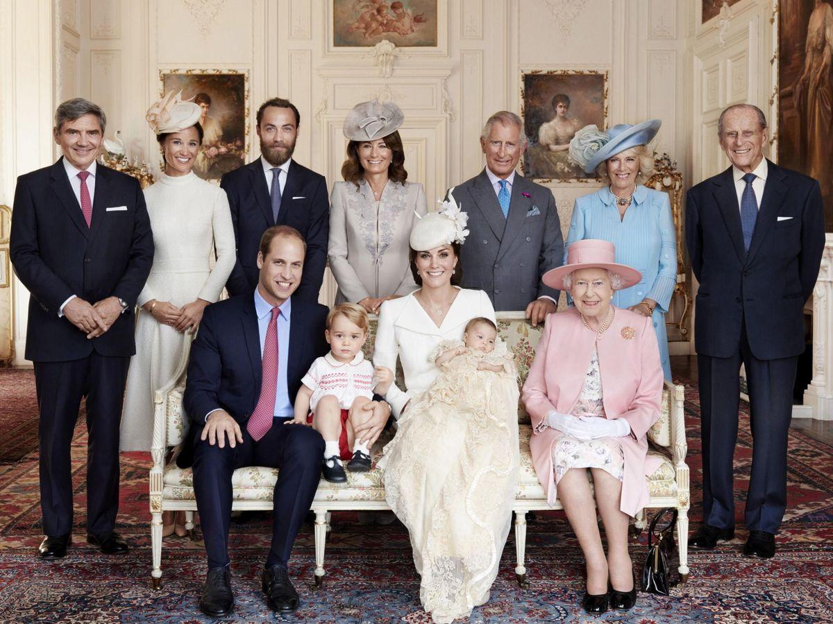 Foto: La familia Real británica. (EFE)