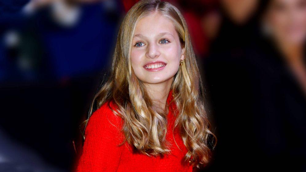 Foto: Leonor, durante los Premios Princesa de Girona. (Limited Pictures)