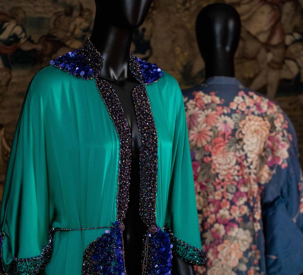Foto: Kimono Yûgen, diseñado por Andrés Acosta. (Sergio Acosta)
