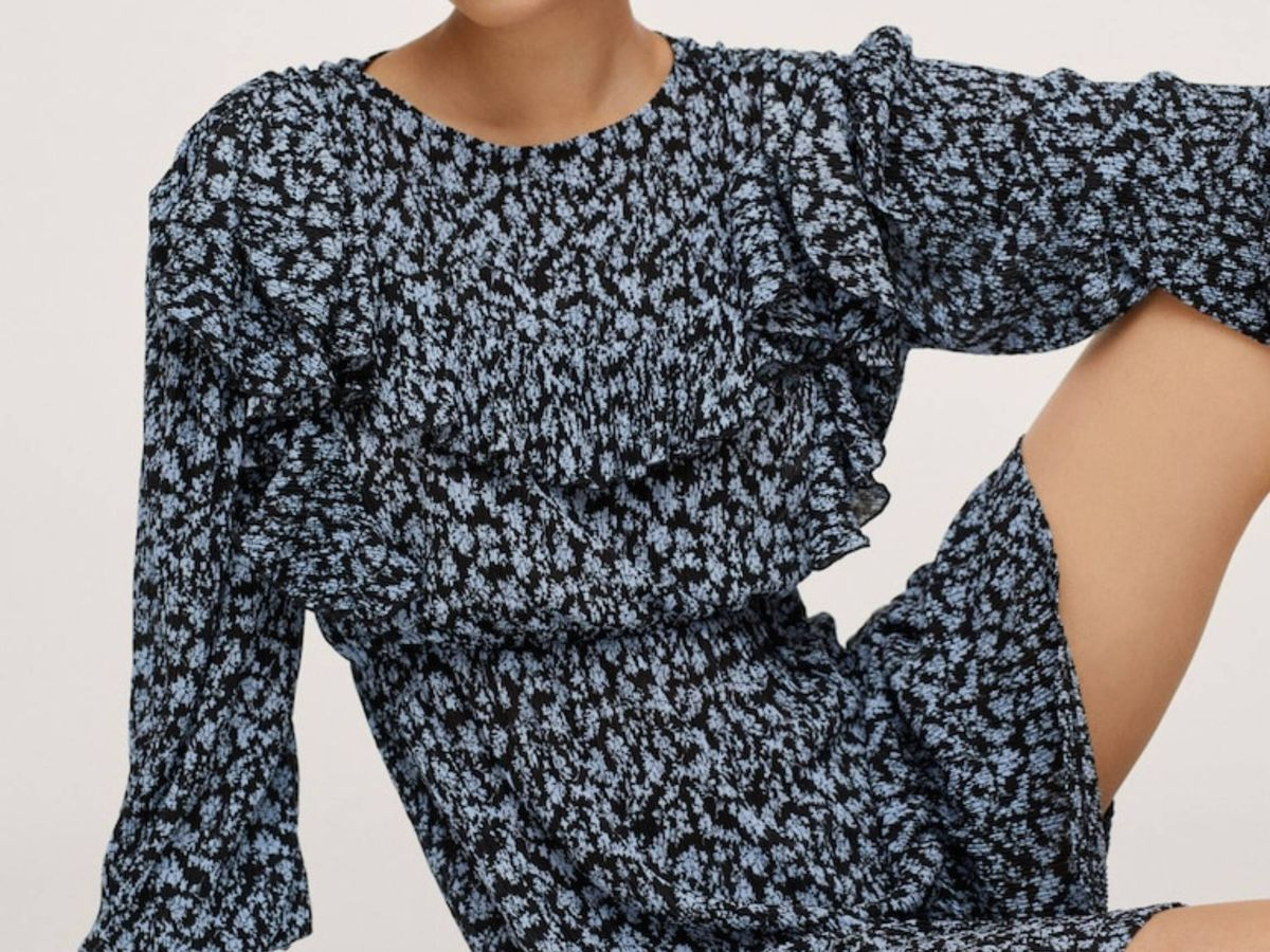 Foto: El vestido de Mango. (Cortesía)