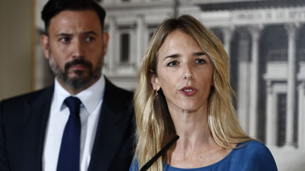 Foto: La portavoz parlamentaria del PP, Cayetana Álvarez de Toledo. (EFE)