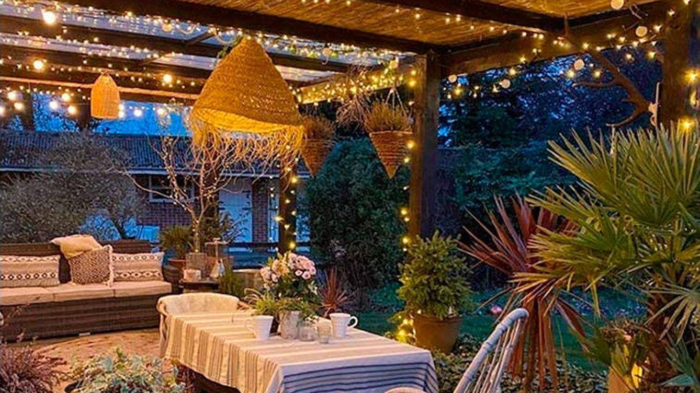 Guirnaldas de exterior para crear el mejor ambiente en tu terraza