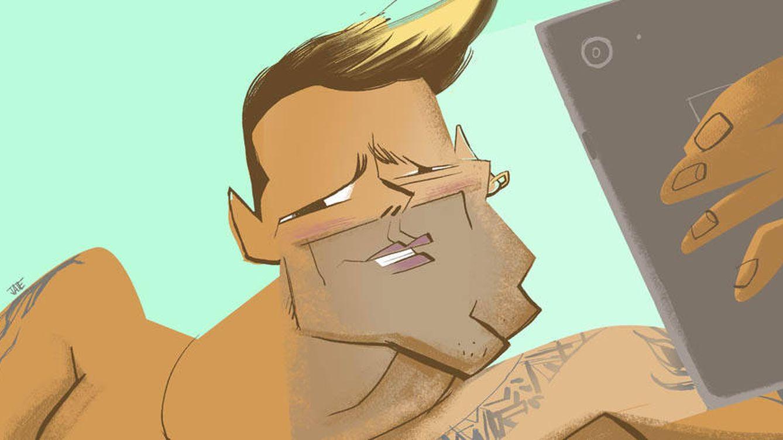Ricky Martin, el estirado