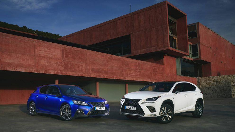Lexus renueva sus modelos compactos, el CT200h y el todocamino NX300h
