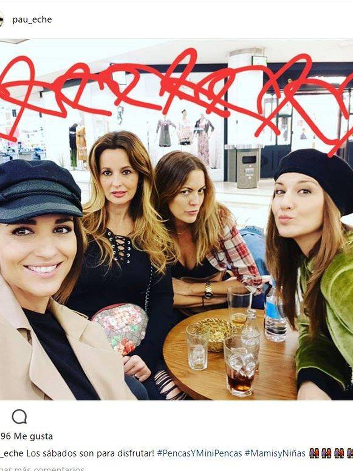 Paula con las Pencas de cañas y risas. (Instagram)