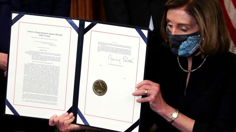 El artículo del impeachment. (Reuters)
