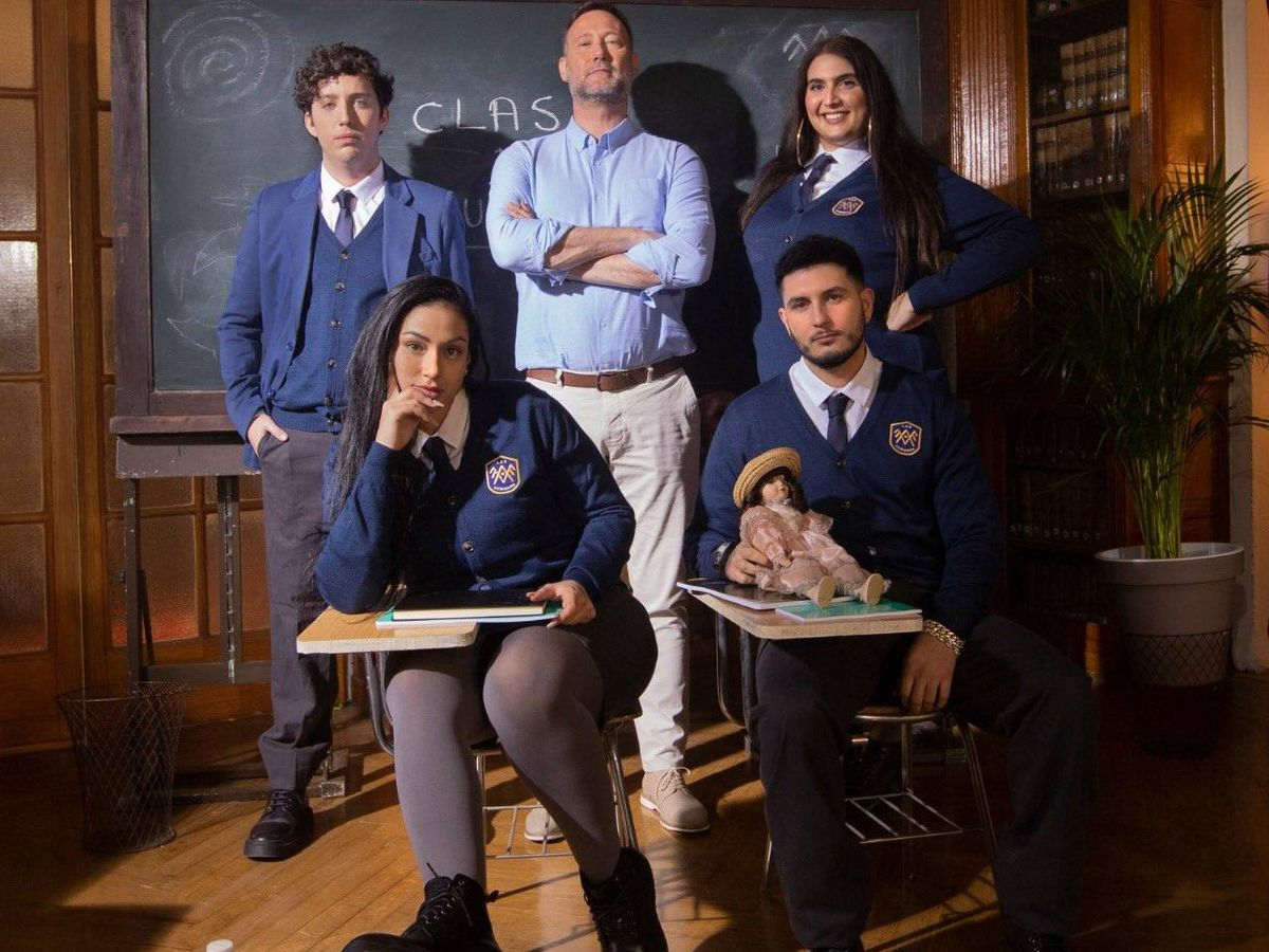 Foto: El Pequeño Nicolás, Omar Montes, Dakota, Pedro Gª Aguado y Saray. (Amazon Prime)