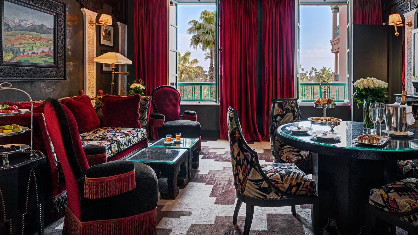 Foto: Hotel La Mamunia, en Marrakech. (Foto: Alan Keohane/Cortesía)
