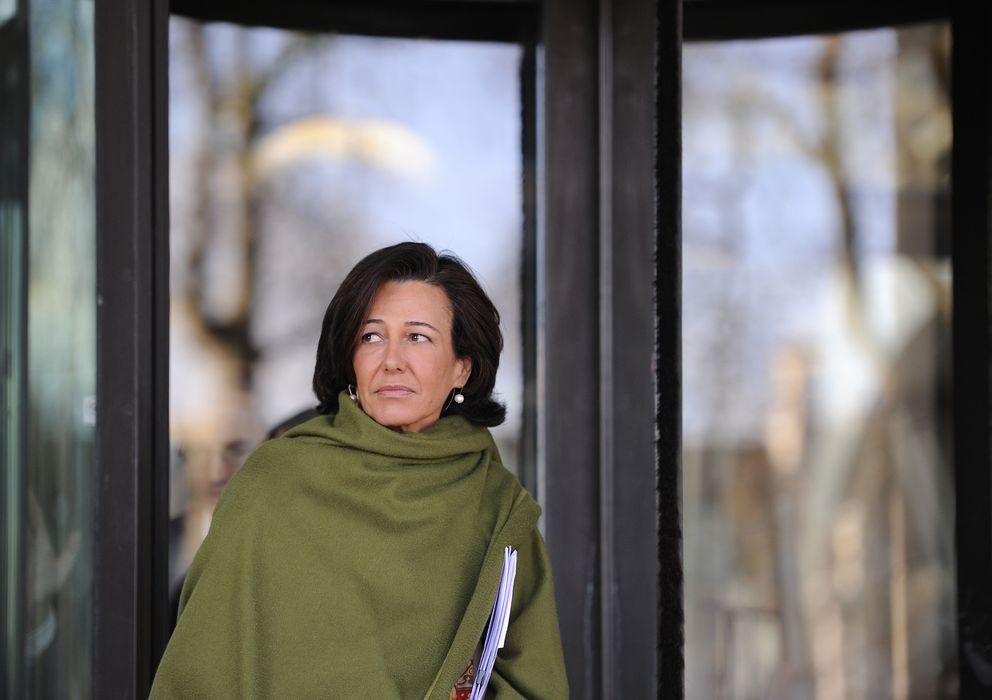 Foto: Ana Patricia Botín, presidenta del Banco Santander. (Reuters)