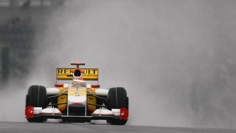 Como fichas de dominó: primero Renault, luego Red Bull y Toro Rosso