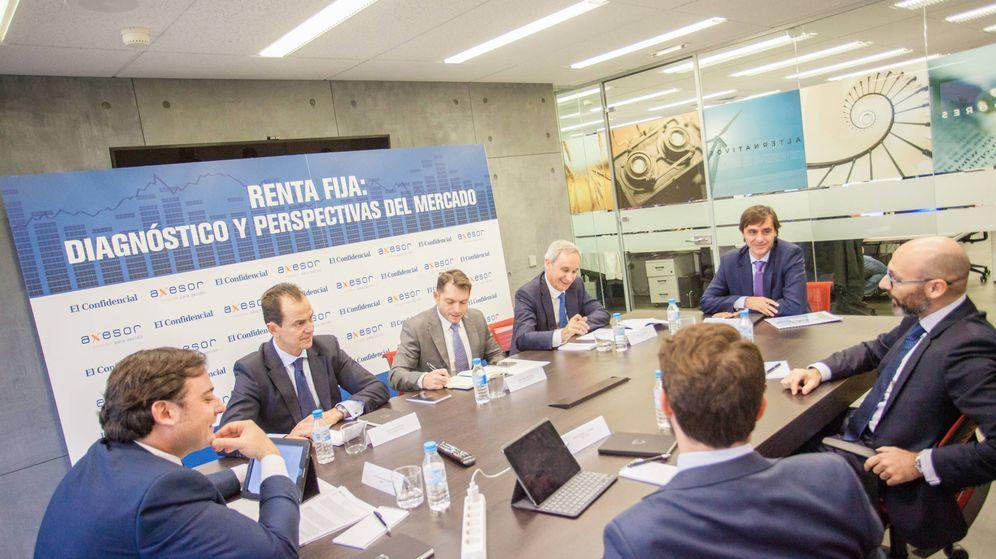 Foto: Mesa redonda organizada por El Confidencial y Axesor. (Foto: Jorge Álvaro Manzano)