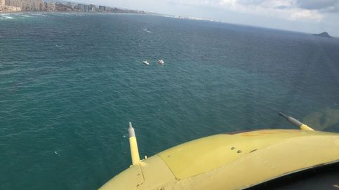 Muere el piloto del avión militar que se ha estrellado en el mar frente a La Manga