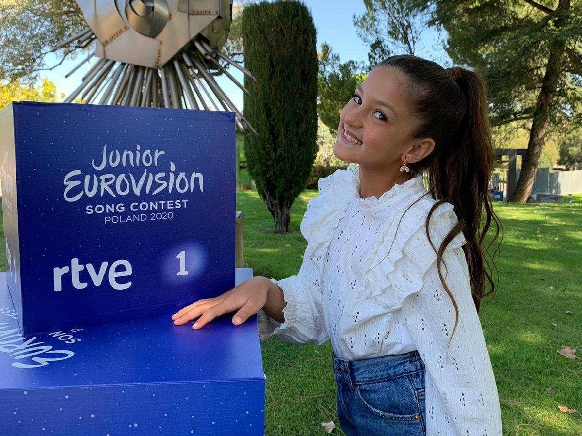 Foto: Soleá, representará a España en Eurovisión Junior 2020. (TVE)