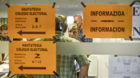La participación en las elecciones vascas cae un 2,8% respecto a 2012