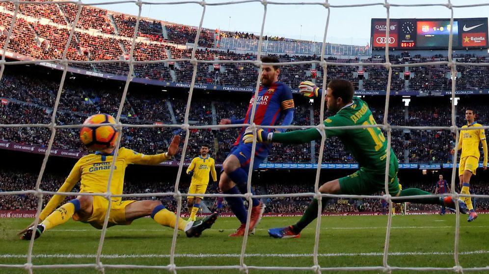 Foto: Partido de Barcelona contra Las Palmas en enero de 2017. (Reuters)