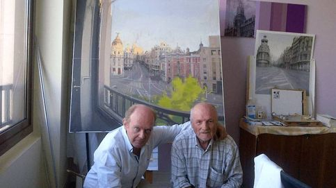 El pintor y el abogado: Antonio López 'okupó' un despacho y redescubrió la Gran Vía