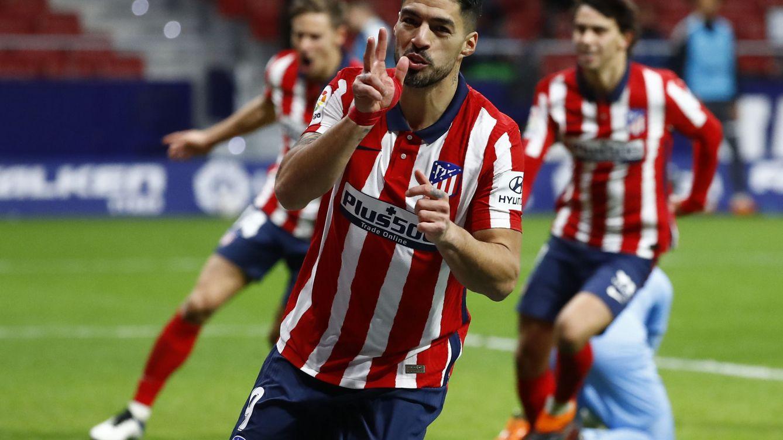El Atleti, en modo apisonadora: remonta ante el Valencia con Suárez otra vez decisivo (3-1)