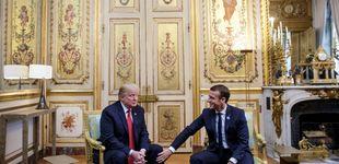Post de Bronca entre Trump y Macron por la defensa de Europa