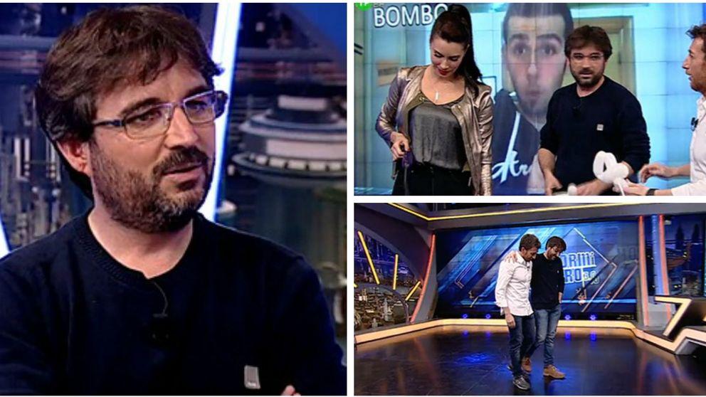 Jordi Évole y Pablo Motos imitan a Jorge Javier Vázquez tras cabrear a Pilar Rubio
