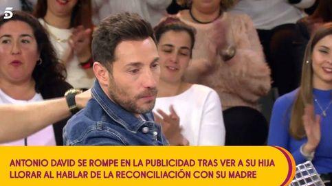 Antonio David Flores se desmorona en 'Sálvame' por su hija