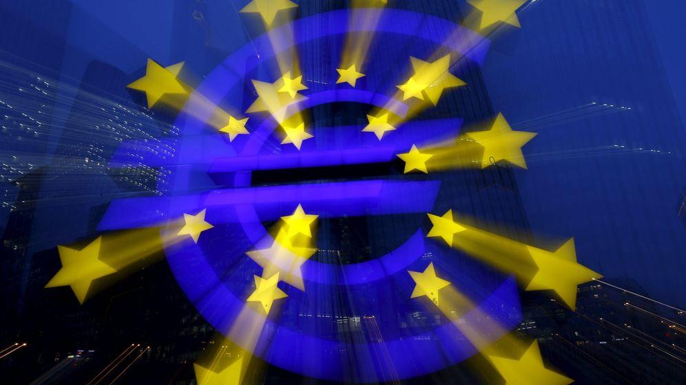 Foto: Símbolo del euro. (Reuters)