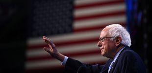 Post de Sanders, hospitalizado tras sufrir dolores en el pecho durante un acto de campaña