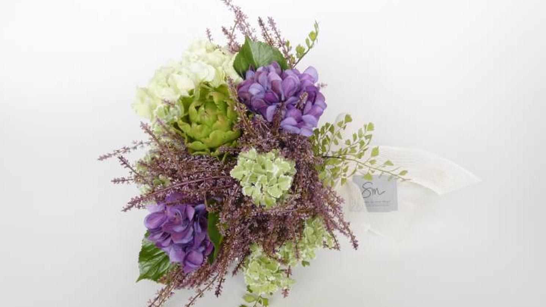 Un ramo de flor artificial de Sonia Mompó. (Foto: Los Detalles de Sonia)