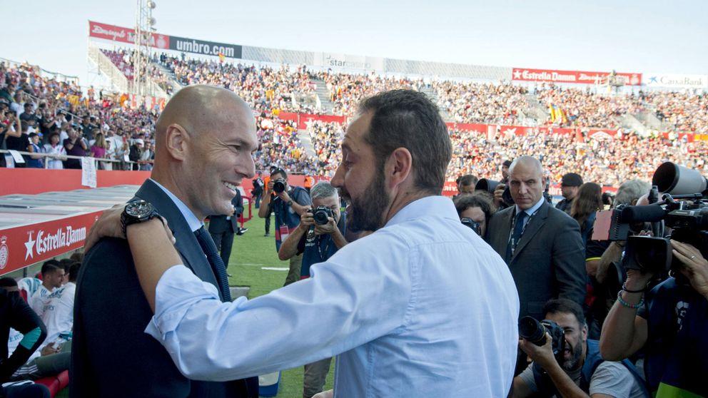 El Sevilla se echa a los brazos de Machín: el entrenador que volvió loco a Zidane