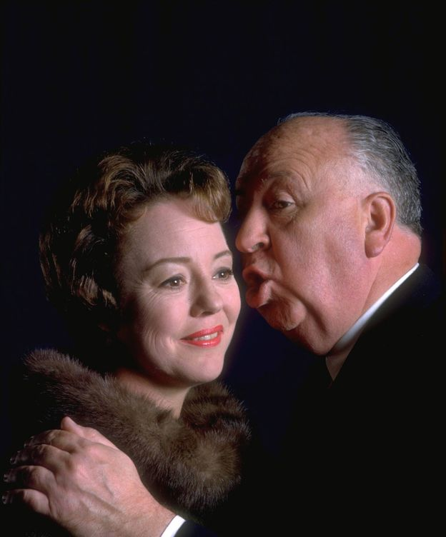 Foto: Hitchcock y su hija Pat, en 1962. (Cordon Press)