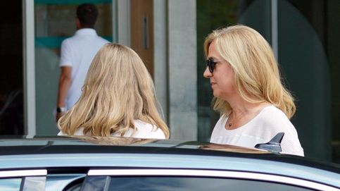 Visita sorpresa: la infanta Cristina acude a ver a don Juan Carlos con tres de sus hijos