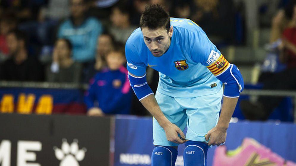 Foto: Paco Sedano en un partido con el FC Barcelona (Foto: FC Barcelona)