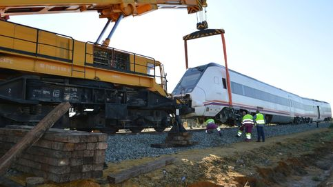 Reabierta la vía afectada por el descarrilamiento de un tren en Arahal