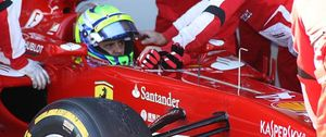 Massa 'dispara' su Ferrari en Jerez con Pedro de la Rosa de testigo