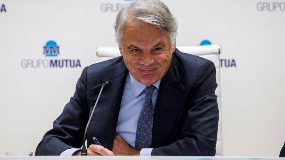 Foto: El presidente del grupo Mutua, Ignacio Garralda. (EFE)