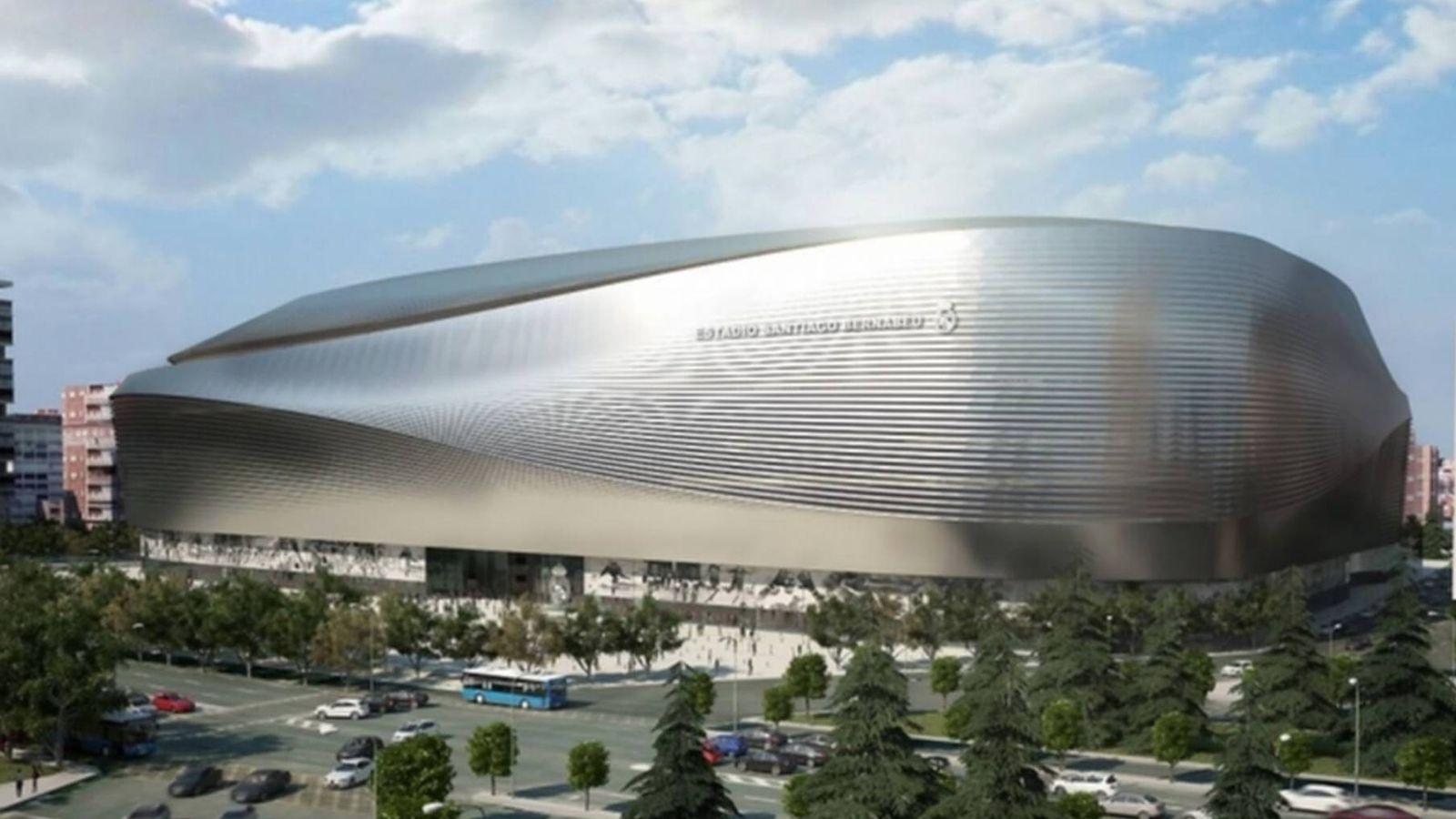 Foto: Panorámica del nuevo estadio Santiago Bernabéu