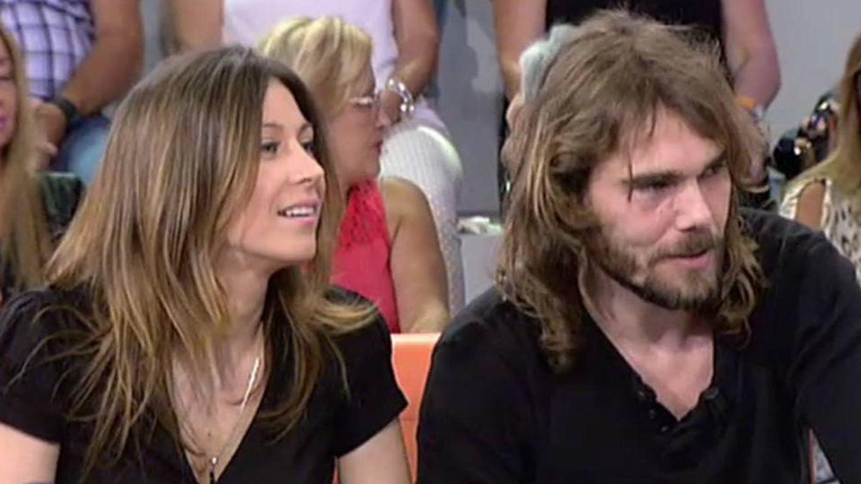 Fayna y Carlos el Yoyas, en una de sus intervenciones televisivas.