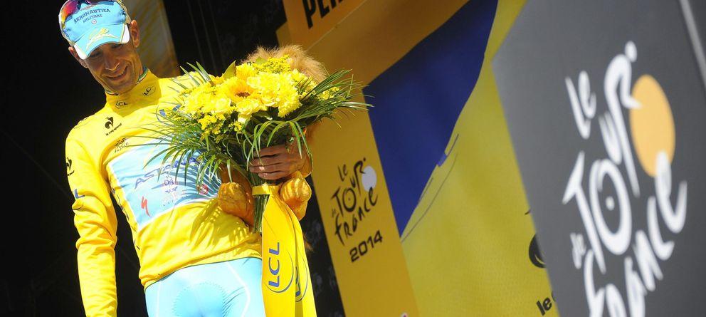 Foto: Vincenzo Nibali ha entrado en la historia al ganar las tres grandes vueltas por etapas.
