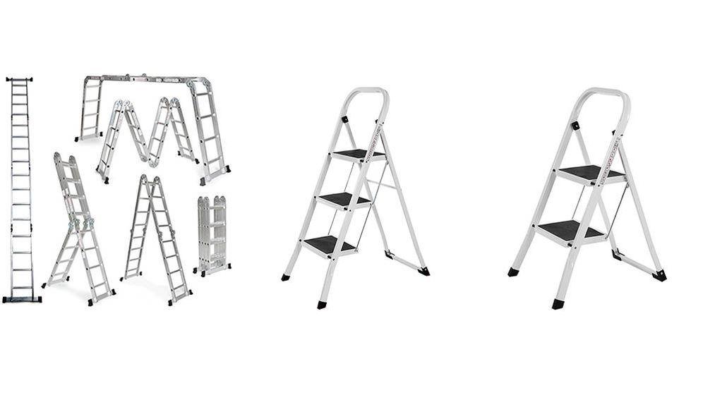Foto: Las mejores escaleras plegables para llegar a todos los sitios