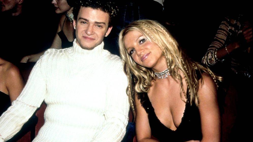Foto: Britney y Justin, en los MTV Music Awards 2000. (Cordon Press)
