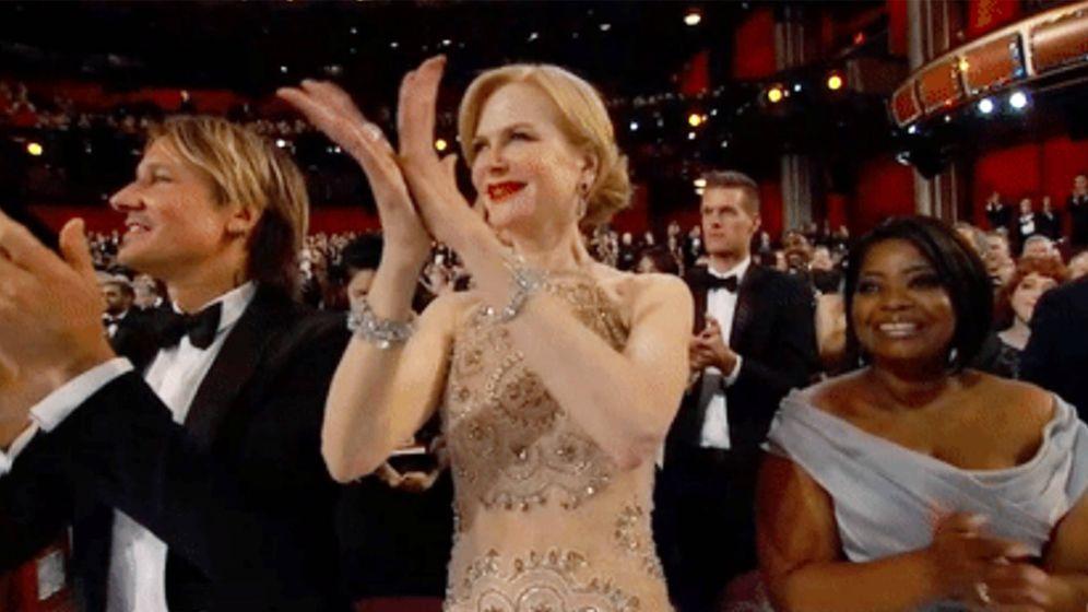 Foto: Nicole Kidman durante la gala de los Oscar.