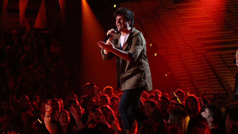 Miki canta 'La venda', la canción de Eurovisión 2019. (RTVE)