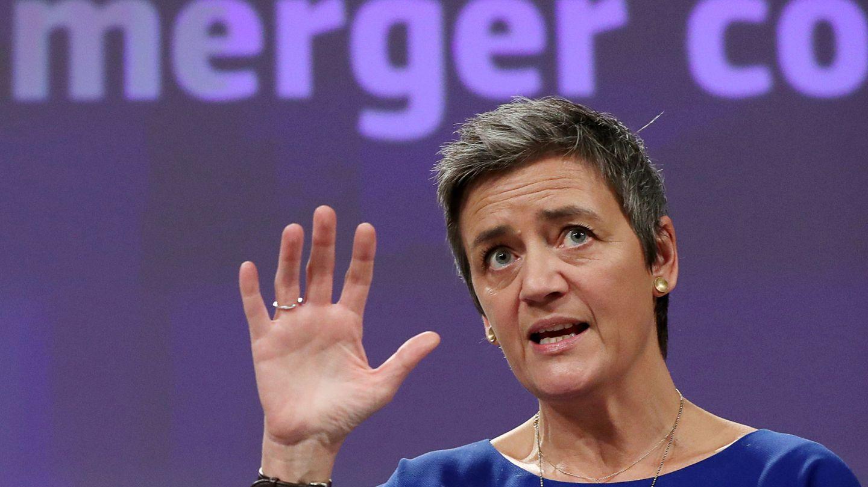 Margrethe Vestager, comisaria de Competencia. (Reuters)