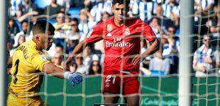 Post de Solo se salva Brahim Díaz en un Real Madrid que es un esperpento
