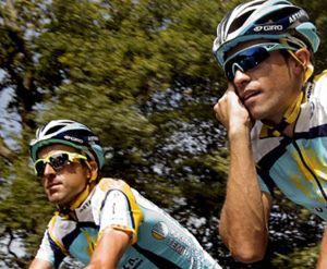 """Zubeldia, del Astana, ve """"mejor a Contador que a Armstrong"""""""