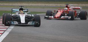 Post de Nadie puede con Hamilton, pero Vettel mete miedo: Sainz saldrá 11º y Alonso 13º