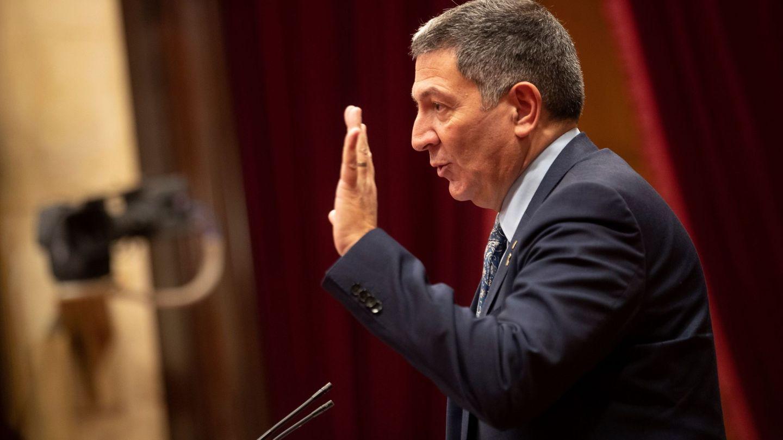 El 'conseller' de Interior catalán, Miquel Samper. (EFE)