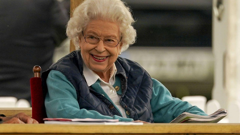 Isabel II, muy sonriente en el reciente evento Royal Windsor Horse Show. (Gtres)