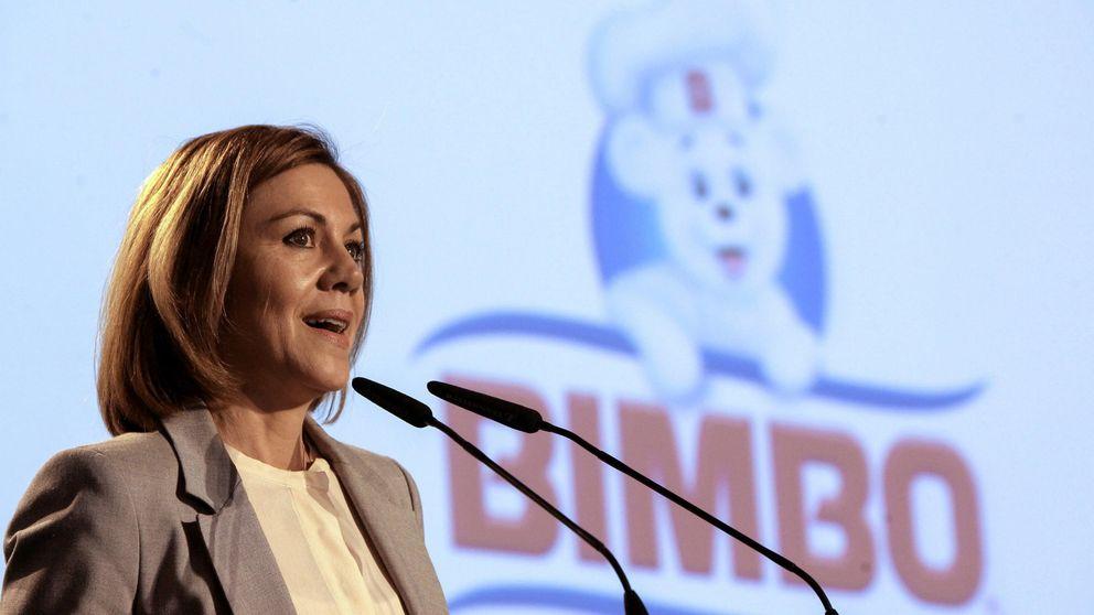 """Cospedal anuncia que sigue en CLM para """"ganar la mayoría absoluta en las generales"""""""